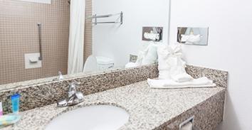 Balu Bear Hotel - Guest Bathroom